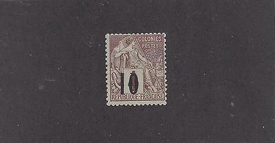 """Senegal #9   Mh  """"french Colonies With Black Overprint"""""""