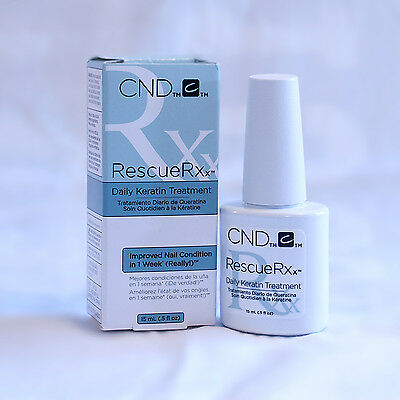 CND Rescue RXx Daily Keratin Treatment for nails 15ml (0.5floz)