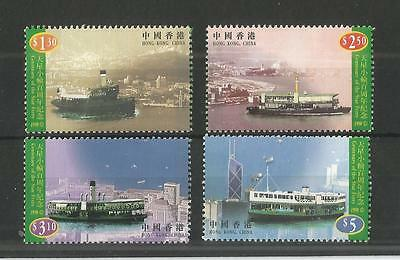 Hong Kong 1998 Star Ferry Sg,920-923 U/m Nh Lot 1589A