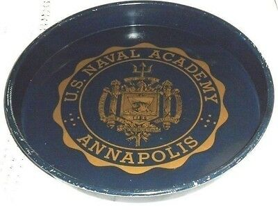 Vintage U.S. Naval Academy Annapolis Bar/Waitress Tray  Mancave Collectible