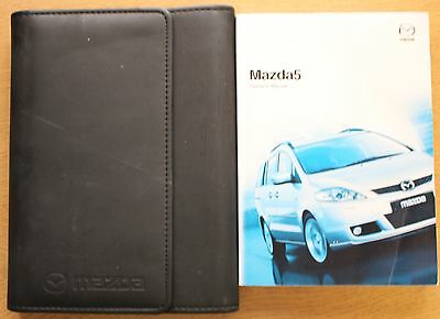 Mazda 5 Handbook Owners Manual Wallet 2005-2008 Pack 11007