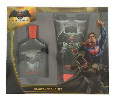 Batman Vs Superman Gift Set 75Ml Edt + 150Ml Body Wash - Men's For Him. New