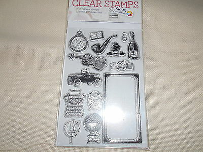 Clear Stamps. 14 teilig.. NEU!!