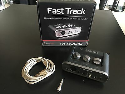 Carte son externe M-Audio Fast Track