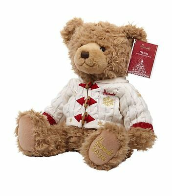 HARRODS LIMITED EDITION CHRISTMAS BEAR 2016 HUGH LARGE - First Gift for baby