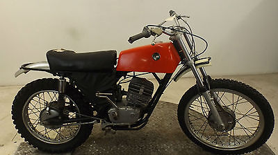 Puch 175 1973 2 Stroke Classic Twinshock Motocross-Enduro Restoration Project