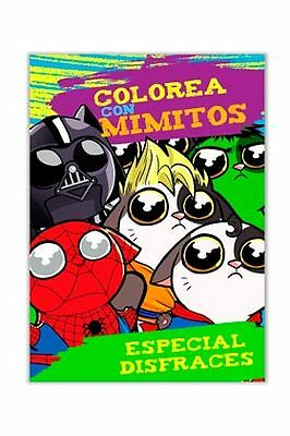 Colorea con Mimitos (Especial Disfraces)