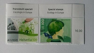Timbres neufs Europa Suisse 2016