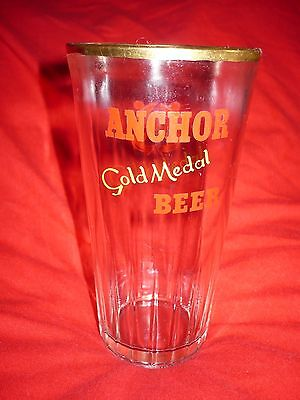 ANCHOR BEER - Vintage glass, 1960's?