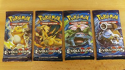 New Pokémon XY #12 Evolutions Booster Pack (10 Cards per Pack)