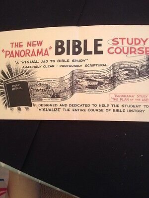 Old 1959. Bible Study Course Book