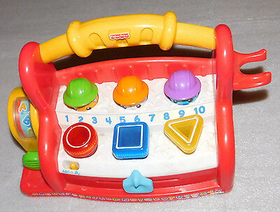 Fisher-Price Laugh & Learn Toolbox Educational Baby Toy Letters Numbers Music