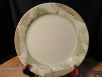 CORELLE  CORNING TEXTURED LEAVES  2 Lunch Plates and 2 Dessert Plates, Free Ship