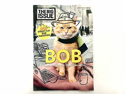 The Big Issue November 2016 A Street Cat Named Bob Special Edition Takeover Rare