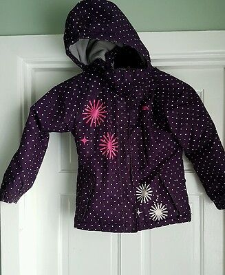 girls trespass coat age 5-6