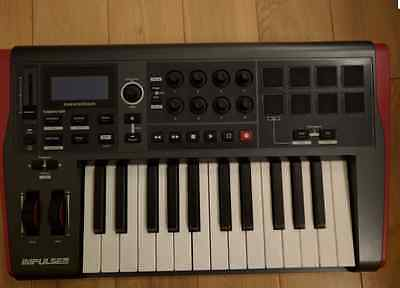 Novation Impulse 25 MIDI USB Studio Controller Keyboard