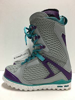 Thirty Two Women's TM TWO Snowboard Boots Gray Purple Size 7