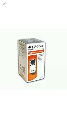 Accu-Chek Mobile Blood Glucose Diabetic Test Strips/Cassettes BRAND NEW & SEALED