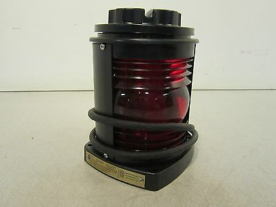 Perko Marine Navigation Red Side Light 1127-RAO-BLK NS:N: 6220013404512