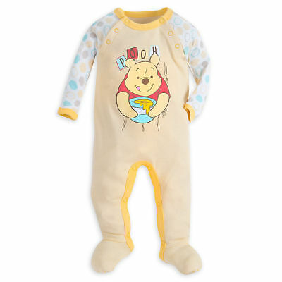 Disney Store Winnie the Pooh Stretchie Sleeper for Baby