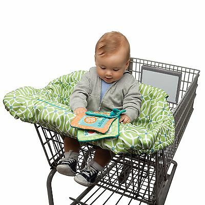 Boppy Shopping Cart Cover in Park Gate Green Color Brand New See Details