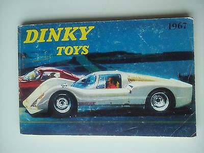 Grand Catalogue Dinky Toys 1967 118 pages + tarifs
