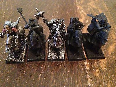 White Wolf Grandmaster With 4 White Wolves - Warhammer/AoS - Empire