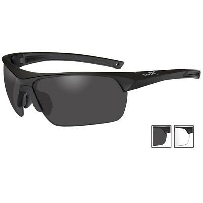 Wiley X Guard Glasse 2 Changeable Lenses Shatterproof Compact Matte Black Frame