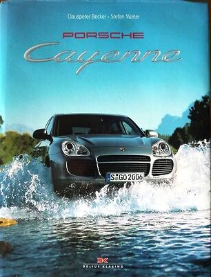 Porsche; Cayenne Story book, signed at launch