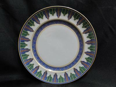 Mottahedeh Charleston Feather, Blue & Green, Gold Trim: Salad Plate (s) 8 1/2""