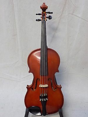 "HOLIDAY SPECIAL - Refurbished Prima 12"" Student Viola Outfit w/ Fiberglass Bow"