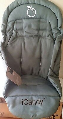Icandy Baby Pushchair Zip In  Seat Pillow For Peach