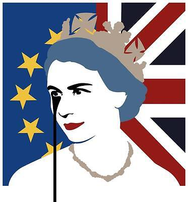 Pure Evil - QE2EU Brexit Nightmare - Signed, Limited Edition, Street Art Print