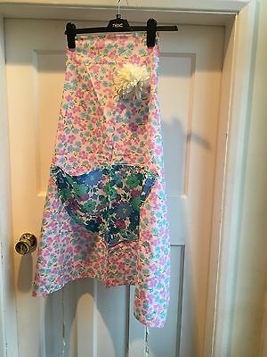 Hand Made Apron Vintage Look