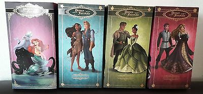 Lot 4 fourreaux Disney Poupée Designer Fairytale Slipcover Ariel Aurora doll