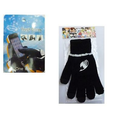Japan Anime Fairy Tail Cosplay Knitted Warm Touch Gloves LS8643