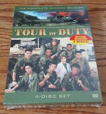 Tour of Duty: The Complete Second Season (DVD, 4-Disc Set) 2nd 2 military tv NEW