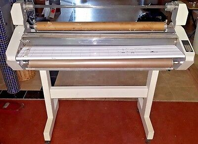 """GBC Eagle 105 41"""" Roll Laminator Lamination Press on Rolling Stand **CAN SHIP**"""