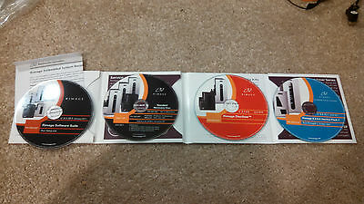 Rimage software suite 8.5 3001618 4xCD kit Recovery Discflow Service 3001557 lot