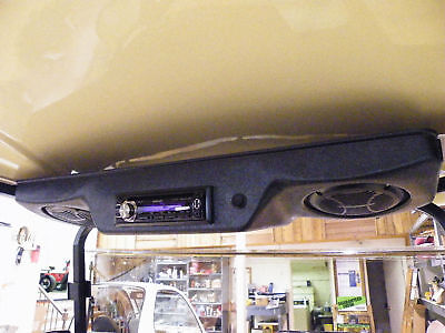 UNIVERSAL GOLF CART OVERHEAD RADIO CONSOLE - BLEMISHED - CHOICE of 6 COLORS
