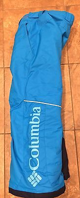 Child Columbia  Bugaboo Omni-Tech Snow Pants Boys Kids Girls Youth Small 7 8