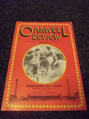 Oakwell Review Programme (Rare) 07/10/1978