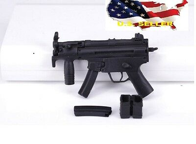 1/6 scale MP5 submachine gun for SWAT phicen ganghood hot toys ❶US Seller❶