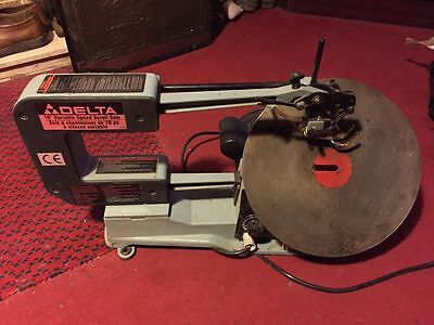 Delta scroll saw heavy duty cast variable speed