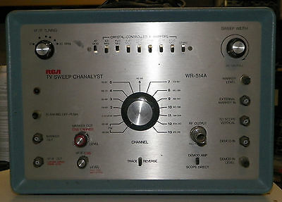 RCA 514A SWEEP and MARKER GENERATOR