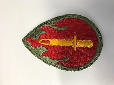 WWII 63rd ID Patch