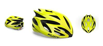 Casco Bici RUDY PROJECT RUSH Yellow Fluo Shiny/HELMET RUSH YELLOW FLUO SHINY