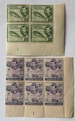 Cayman Islands 1938 stamps mint