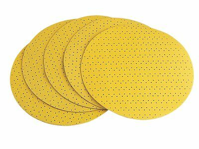 Flex Velcro Sanding Paper Discs FLX282405 Perforated P120 Grit - Pack of 25