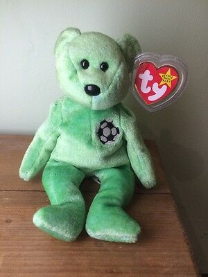 TY Beanie Baby Kicks RARE with Tag Error